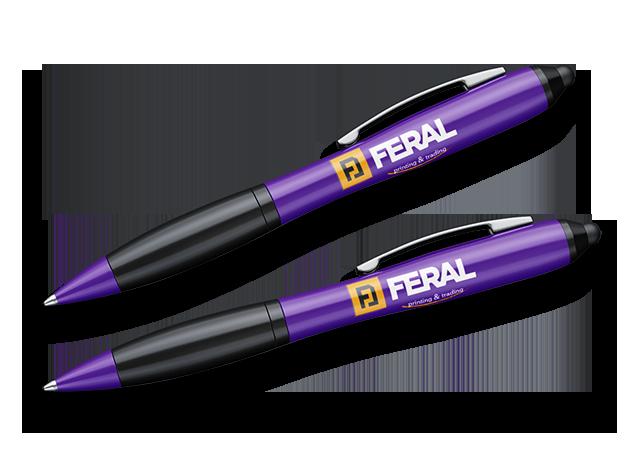 Hemijska olovka sa uv štampom 12
