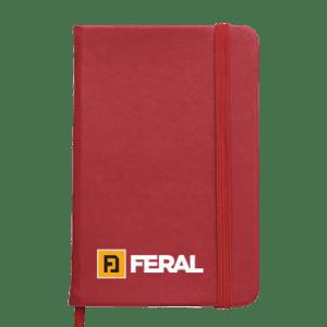 Notes crveni sa gumom